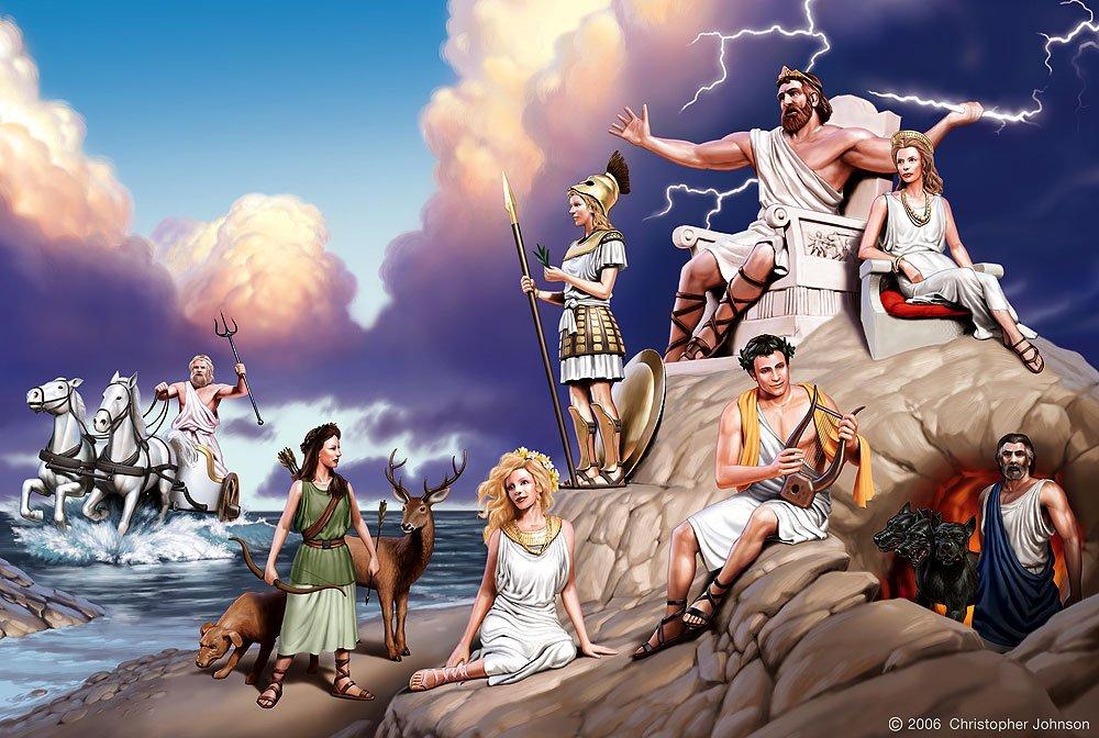 Боги Греции